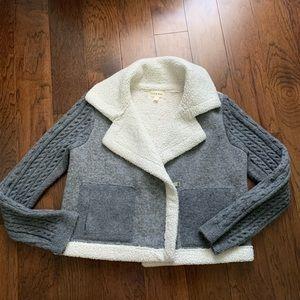 Cloth & Stone fleece lined jacket
